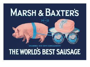 Marsh and Baxter's World's Best Sausage by Simon
