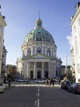 Amalienborg Marmorkirken (Marble Church) (Frederik's Church), Copenhagen, Denmark by Simon Montgomery