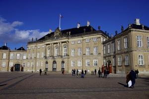 Amalienborg Palace, Winter Residence of the Danish Royal Family, Copenhagen by Simon Montgomery
