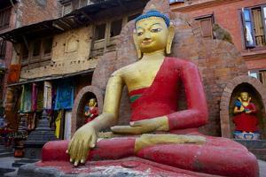 Buddha Statue by Simon Montgomery