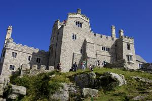 Castle House on St. Michael's Mount, Marazion, Cornwall, England, United Kingdom, Europe by Simon Montgomery