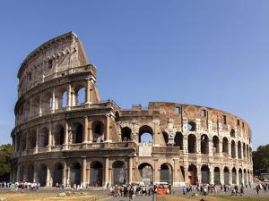 Colosseum, Rome, Lazio, Italy, Europe by Simon Montgomery