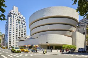 Guggenheim Museum of Modern and Contemporary Art, New York, USA by Simon Montgomery