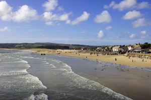 Marazion Beach, Cornwall, England, United Kingdom, Europe by Simon Montgomery