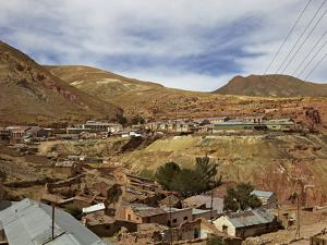 Old Mining Ghost Town of Pulacayo, Famously Linked to Butch Cassidy and Sundance Kid, Bolivia by Simon Montgomery