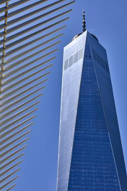 One World Trade Center in New York City, New York, USA by Simon Montgomery