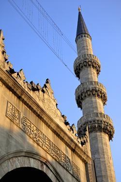The Yeni Camii (New Mosque), Istanbul, Turkey, Europe, Eurasia by Simon Montgomery