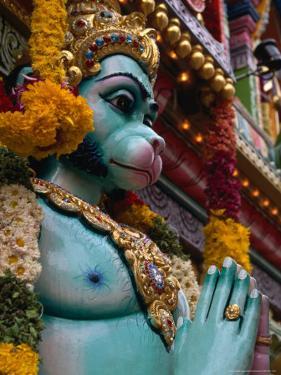 Detail of Sri Krishnan Temple on Waterloo Street, Singapore, Singapore by Simon Richmond