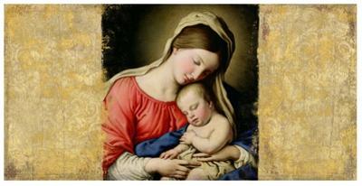 Holy Virgin (After Sassoferrato) by Simon Roux