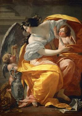 Allegory of Wealth by Simon Vouet