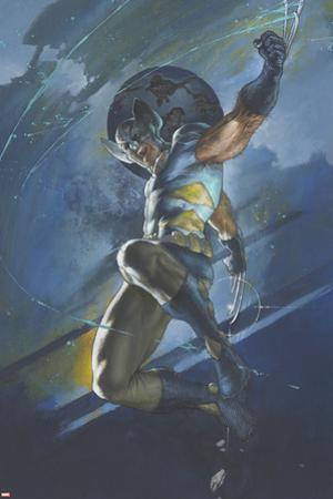 Uncanny X-Men No.539 Cover: Wolverine Jumping by Simone Bianchi