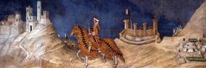 Guidoriccio Da Fogliano, 1328 by Simone Di Martini