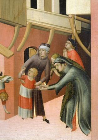 Altarpiece Entitled Blessed Agostino Novello and Stories of His Life