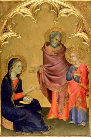 Christ Discovered in the Temple by Simone Martini
