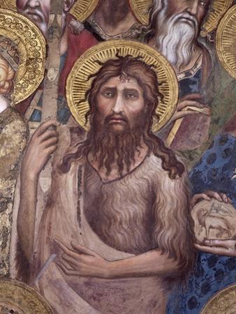 Maesta: St. John the Baptist, 1315 by Simone Martini