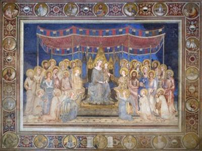 Maestà by Simone Martini
