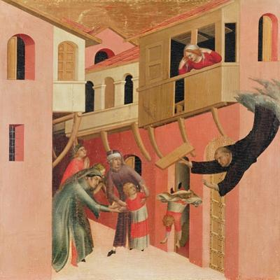 Polyptych of the Blessed Agostino Novello and Four Stories of His Life by Simone Martini