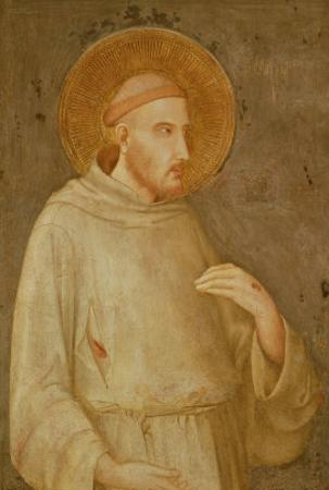 St. Francis by Simone Martini