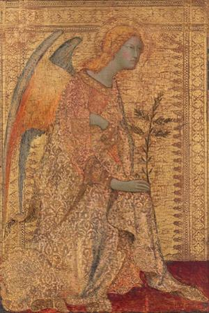 The Angel of the Annunciation, C.1333 by Simone Martini