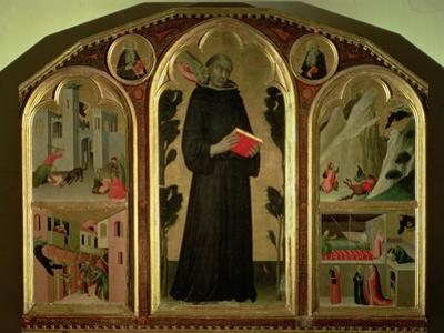 The Blessed Agostino Novello Altarpiece, with four of his miracles, c.1328