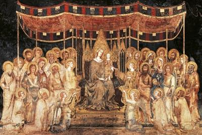 The Majesty, 1315 by Simone Martini