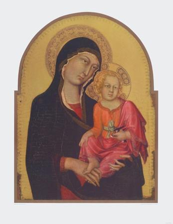 The Virgin and Child by Simone Martini