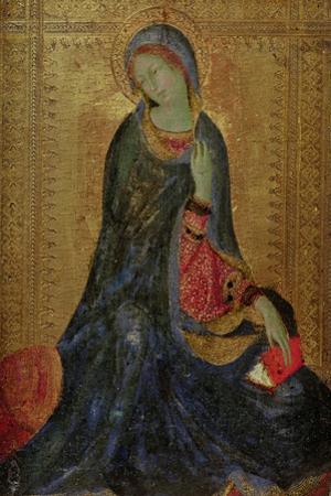 Virgin Annunciate, Right Hand Panel of Diptych, 1340-44