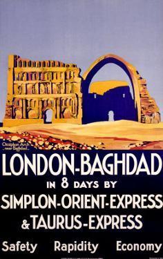 Simplon Orient Express, Baghdad, Iraq