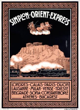 Simplon Orient Express, Londres