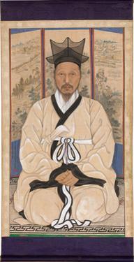 Portrait of a Scholar, 1924 by Sin Hakgwon