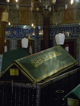 Turkey. Istanbul. Mausoleum of Sultan Suleiman I, by Architect Mimar Sinan