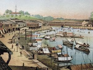 Singapore's Riverside, What Is Now Boat Quay