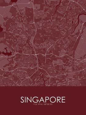 Singapore, Singapore Red Map