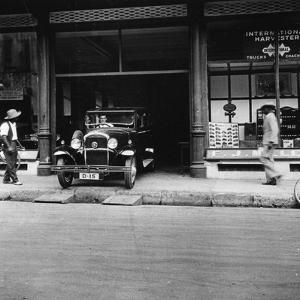 Singer Car Showroom, Port of Spain, Trinidad, Trinidad and Tobago, 1931