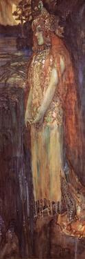 Singer Nadezhda Zabela-Vrubel As Princess Volkhova in the Opera Sadko