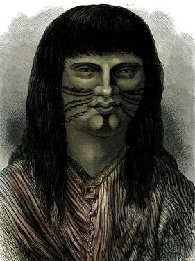 Sipibo Indian Peru 1869