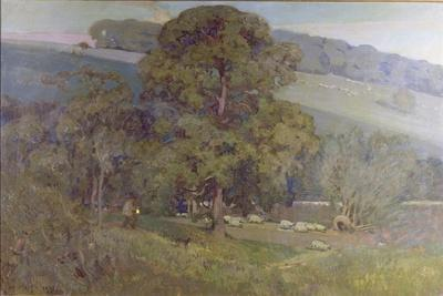 Moonlight in the Cotswolds, 1903