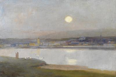 Moonrise over Hayle, from Lelant, C.1892