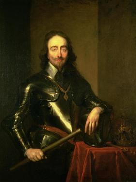 Charles I (1600-49) by Sir Anthony Van Dyck