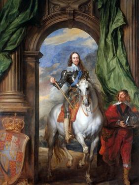 Charles I with Monsieur De St Antoine by Sir Anthony Van Dyck