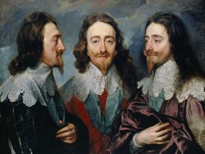 Charles I by Sir Anthony Van Dyck