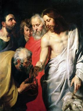 Christ and St. Peter by Sir Anthony Van Dyck