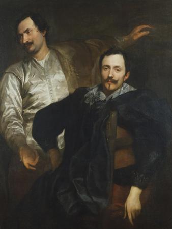 Cornelius and Lucas De Wael by Sir Anthony Van Dyck