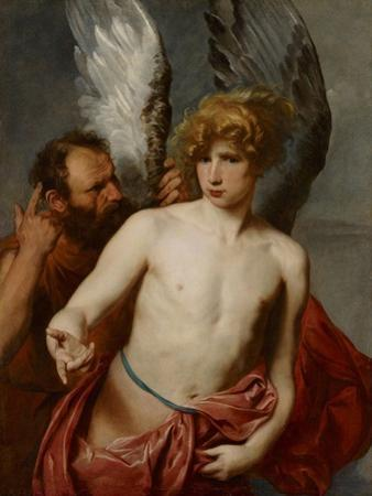 Daedalus and Icarus, Between 1615 and 1620 by Sir Anthony Van Dyck