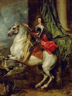 Equestrian Portrait of Thomas Francis of Carignan, Duke of Savoy, 1634 by Sir Anthony Van Dyck