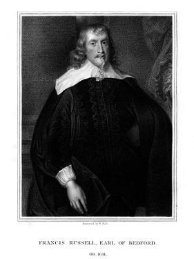Francis Russell, 4th Earl of Bedford, English Politician by Sir Anthony Van Dyck