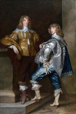 Lord John Stuart and His Brother, Lord Bernard Stuart (C.1623-45) C.1638 by Sir Anthony Van Dyck