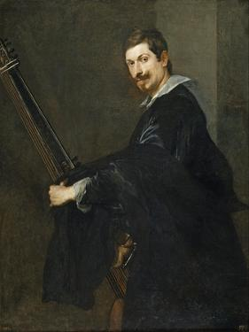 Man with a Lute, Between 1621 and 1630 by Sir Anthony Van Dyck