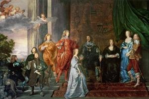 Philip Herbert (1584-1650), 4th Earl of Pembroke and His Family by Sir Anthony Van Dyck