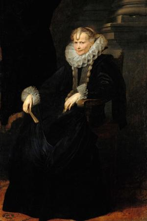 Portrait of a Genovese Lady, C. 1621 by Sir Anthony Van Dyck
